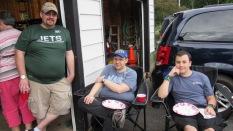 KC2YGF (Sean), KR2HWK (Marc) & KR2ECP (Josiah)