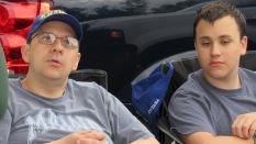 KR2HWK (Marc) & KR2ECP (Josiah)